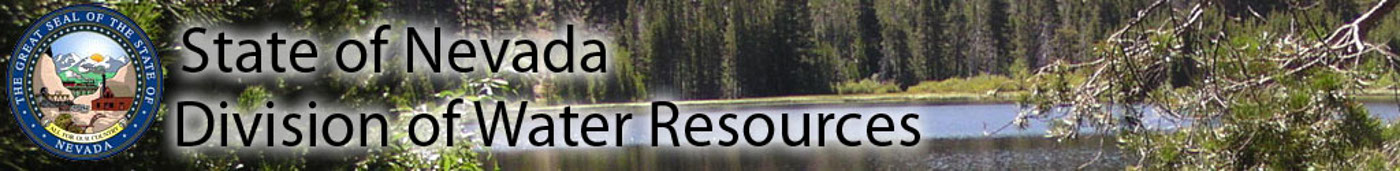Banner image - Nevada Division of Water Resources Logo